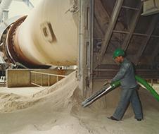 Возврат в производственный процесс<BR>просыпей сырья и материалов