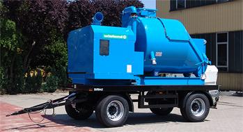 BlowVac Diesel Conic 3200D на прицепе (не взрывозащищенный)