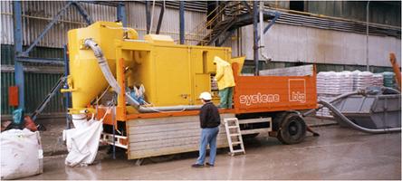 VacTrailer MVS 3800 на цементном предприятии